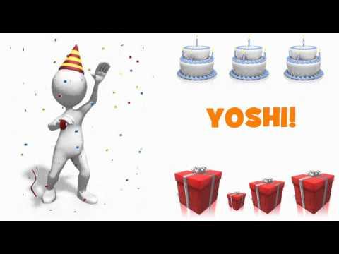 Feliz Cumpleanos Yoshi Youtube