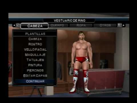 Wwe Smackdown vs Raw 2011 - How to create to Daniel Bryan(Mi Caw)(PS2) by  MarioBrosArgentino