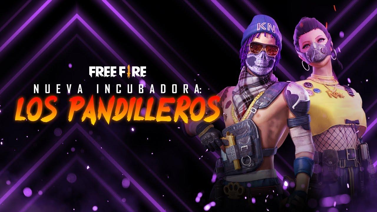 ¡Los pandilleros de Free Fire! 🔥 NUEVA INCUBADORA | Garena Free Fire