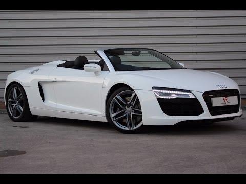 Audi R V Spyder YouTube - Audi r8 v8