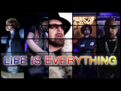 Mario Biondi feat Wendy Lewis -  Life Is Everything - Official Video - with Lyrics On Screen
