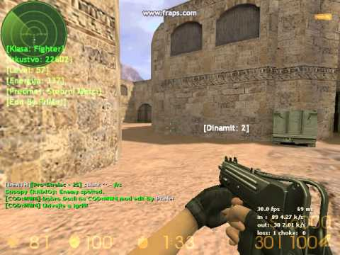 counter strike 1 6 new version cod server s best free class youtube