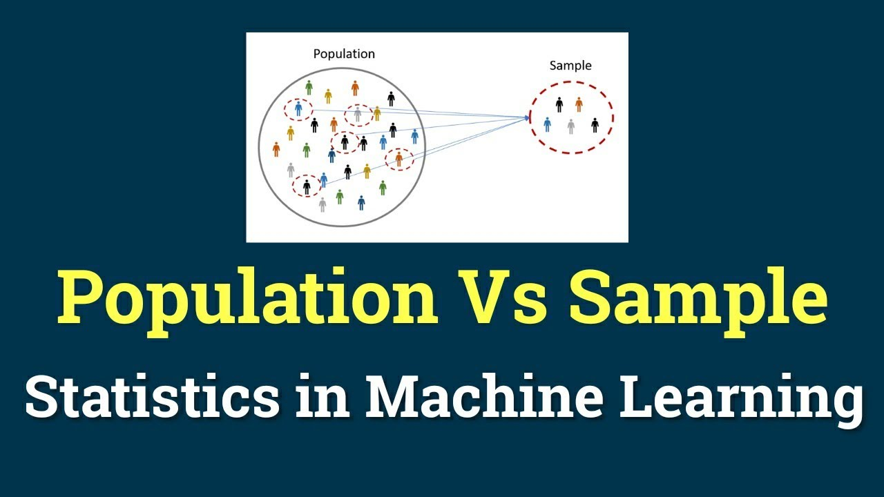 Population and Samples | Statistics in Machine Learning | Machine Learning