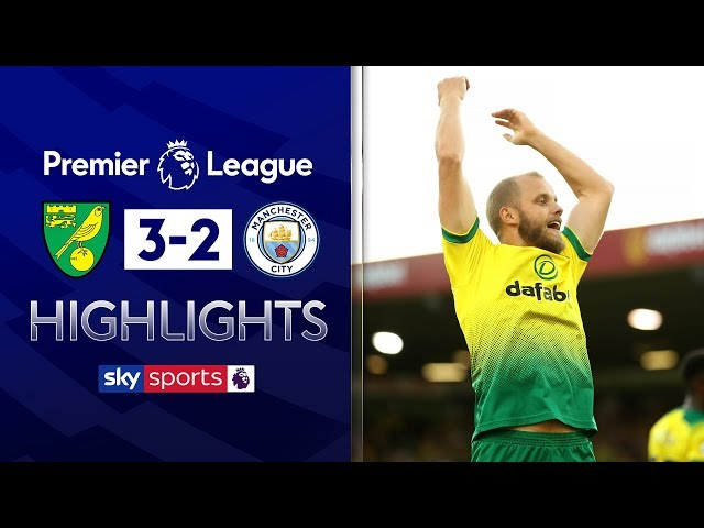 Norwich shock Man City! | Norwich City 3-2 Manchester City | Premier League Highlights