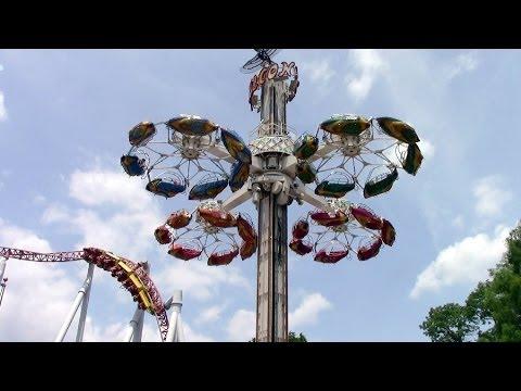 Flying Falcon off-ride HD Hersheypark