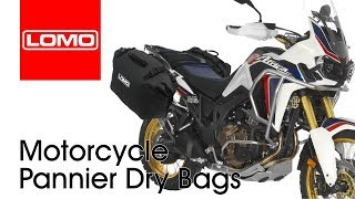 Lomo Motorcycle Pannier Dry Bags