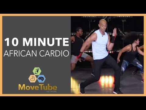 10 Minute Workout African Cardio Burn with Billy Blanks Jr.