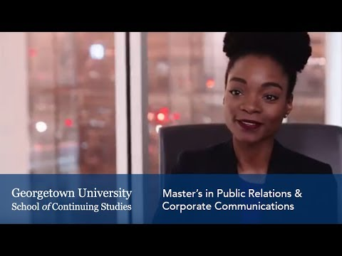 Master's In Public Relations & Corporate Communications Testimonials