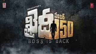 Boss Is Back Dialogue    Khaidi No 150    Megastar Chiranjeevi, Kajal Aggarwal    Telugu Dialogues