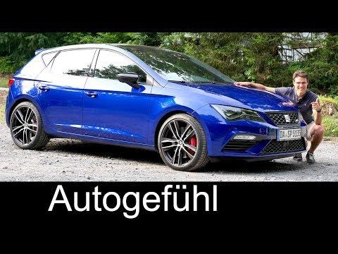 Seat Leon Cupra 300 FULL REVIEW hatch + manual - Autogefühl