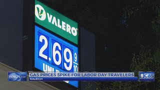 Drivers talk about higher gas prices in wake of Harvey