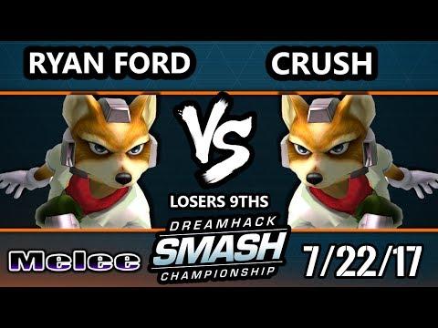 DHATL 17 Melee - ERG | Ryan Ford (Fox) Vs. EGTV.Crush (Fox) SSBM Singles L9th