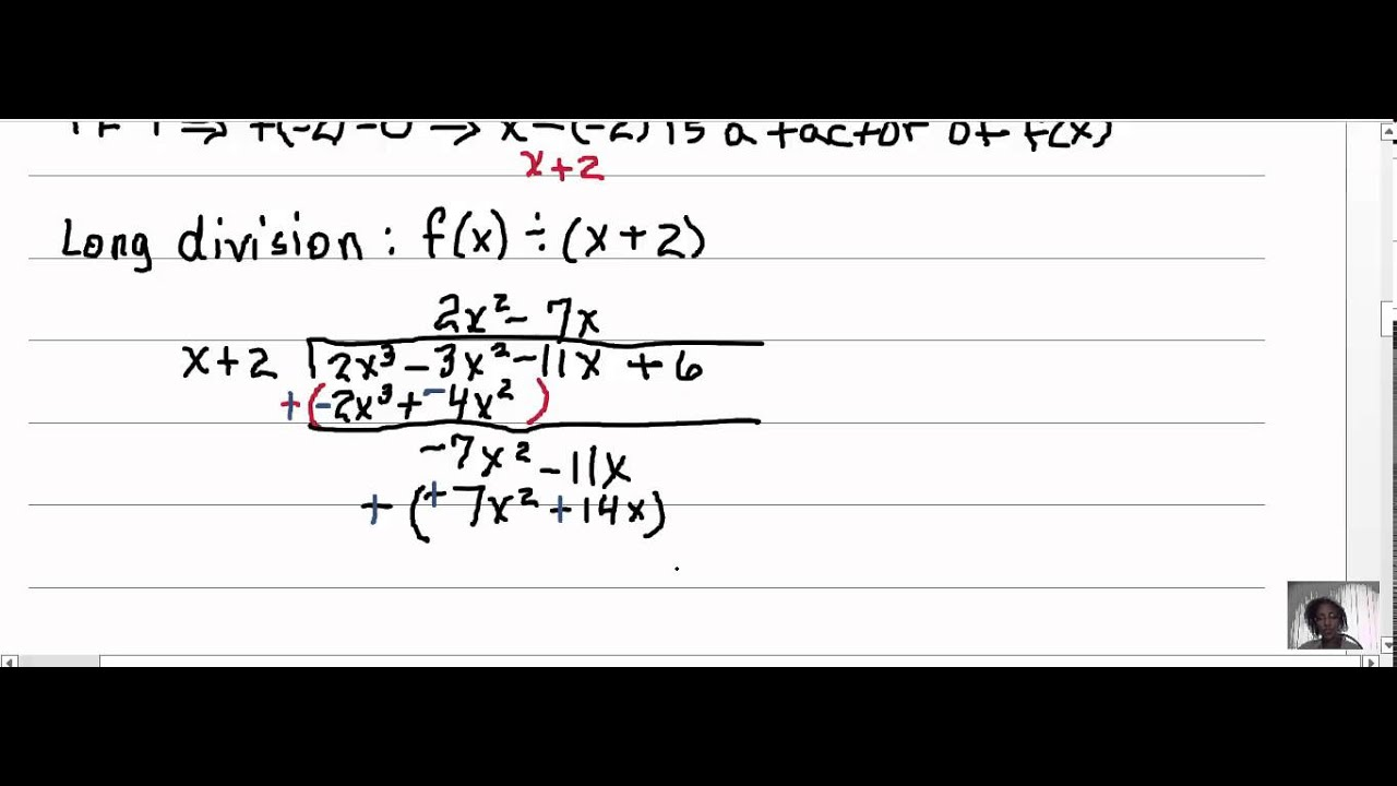 Math 1110 Exercise 3 3 44 Dividing Polynomials Remainder and – Remainder Theorem Worksheet