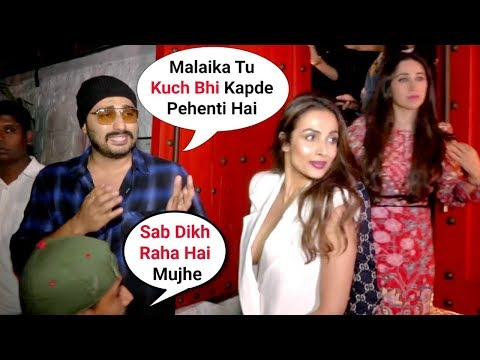 Arjun Kapoor Gets ANGRY & Shouts On Girlfriend Malaika Arora Khan For Wearing B0LD Clothes Mp3