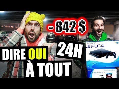 DIRE OUI À TOUT PENDANT 24H (YES MAN CHALLENGE) - HUBY