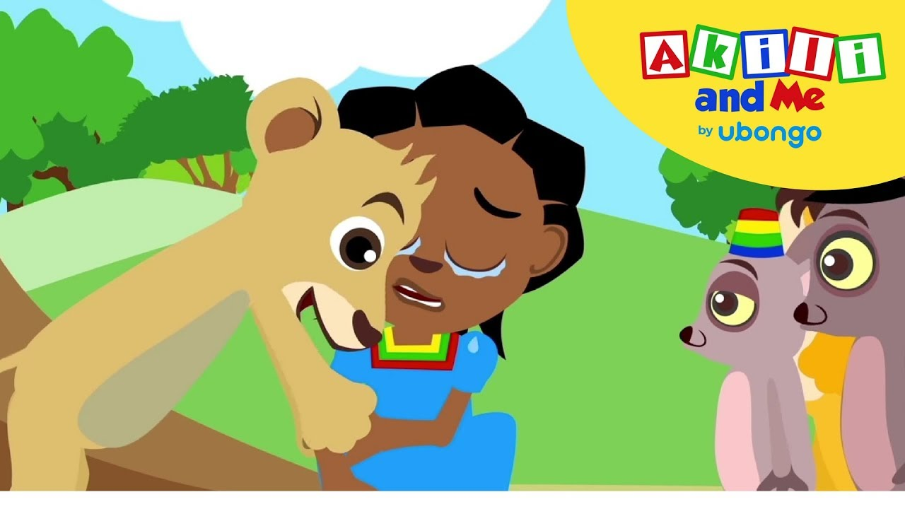 Say Sorry Song | Sing with Akili and Me | Cartoons for Preschoolers
