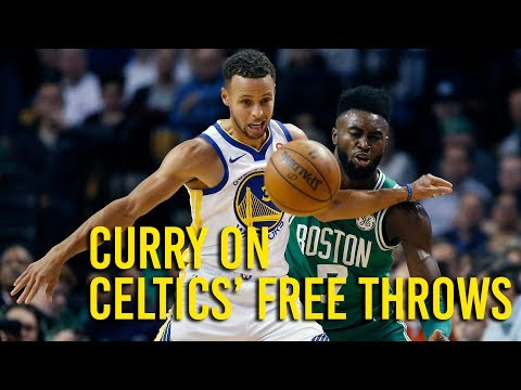Warriors guard Stephen Curry on loss to Celtics