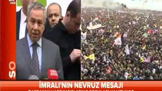 Bülent Arınç Erdoğan'ı eleştirince A haber yayını kesti