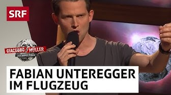 Fabian Unteregger - im Flugzeug   Comedy-Frühling   SRF Comedy