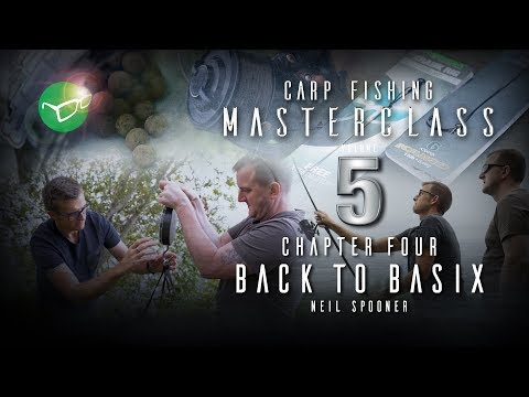 Korda Carp Fishing Masterclass 5: Back to Basics  Neil Spooner  Free DVD 2018