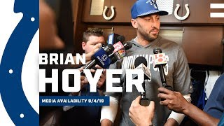 Brian Hoyer On Signing With Indianapolis Colts