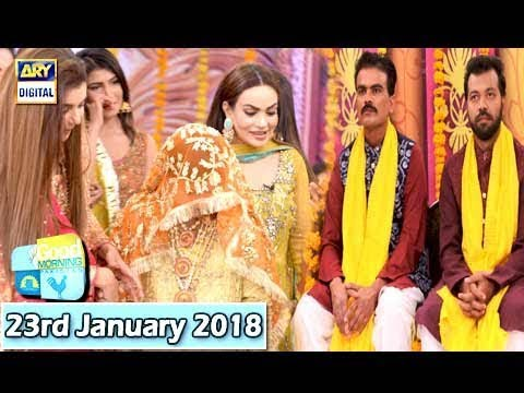 Good Morning Pakistan - 23rd January 2018 - ARY Digital Show