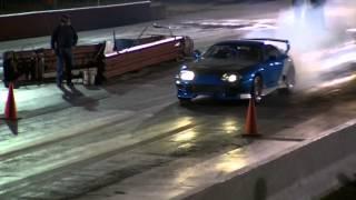 1200HP Supra vs Nissan 240SX Drag Race