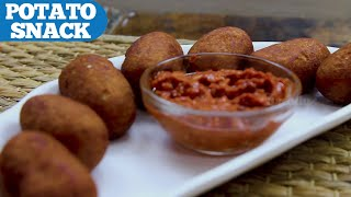 2 Ingredient Quick Snack | Potato Snack || Wirally Food