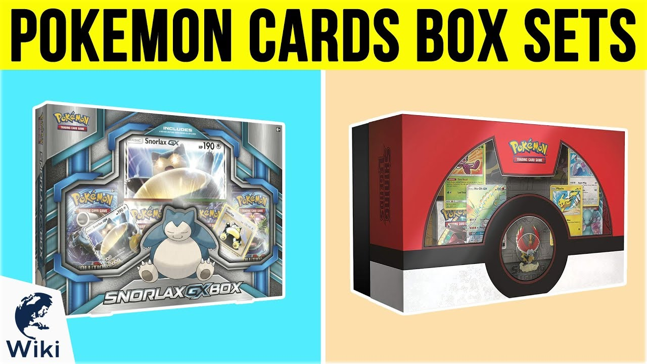 best pokemon cards 2019 10 Best Pokemon Cards Box Sets 2019   YouTube