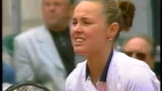 Martina Hingis vs Julie Halard-Decugis 1999 German Open Highlights