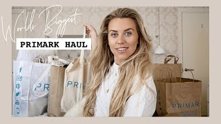 One of Freya Farrington's most viewed videos: WORLD BIGGEST PRIMARK HAUL £££ | TRY ON SPRING FASHION EDIT 2019