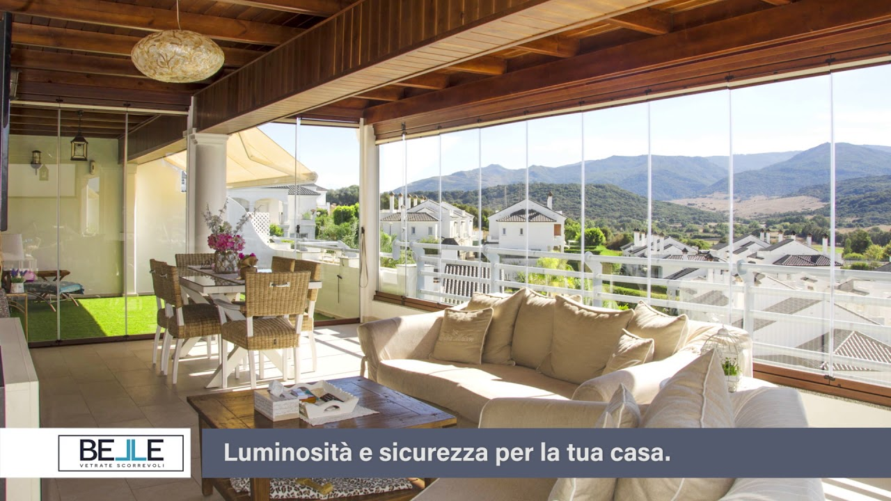 Belle vetrate scorrevoli luminosit e sicurezza per la tua for Le belle vetrate scorrevoli