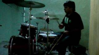 Underoath - Coming Down Is Calming Down, Drum cover
