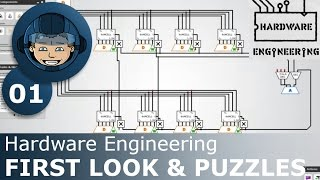 FIRST LOOK & PUZZLES - Hardware Engineering: Ep. #1 - Gameplay & Walkthrough