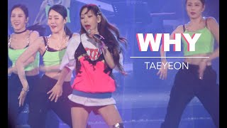 Gambar cover Taeyeon - Why - The Unseen Concert in Seoul Day 1 (200117)
