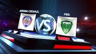 Grup A: Arema Cronus vs Persipasi Bandung Raya (4-2) - Match Highlights