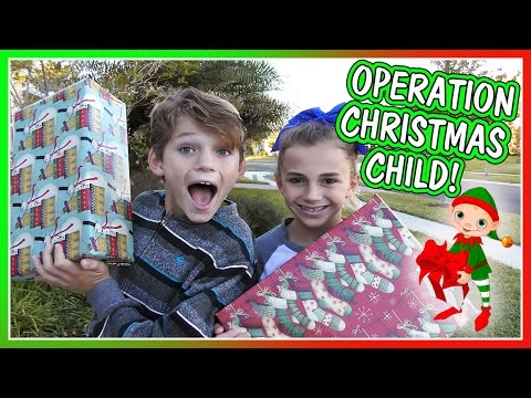 IT'S OPERATION CHRISTMAS CHILD! | WHO DO WE GIVE THESE GIFTS TO? | We Are The Davises