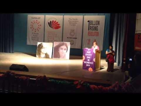 Charlotte Bunch delivers the Annual Sunila Memorial Lecture (Part 2)