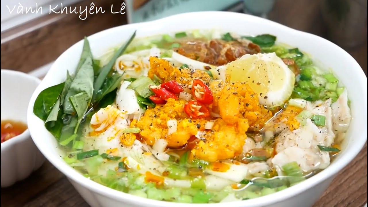 BÚN CÁ KIÊN GIANG – Cách nấu món Bún Cá Kiên Giang thơm ngon đúng hương vị by Vanh Khuyen