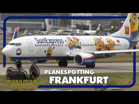 Planespotting Frankfurt Airport   September 2017   Teil 1