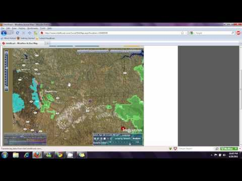 2011-04-29 HAARP Rings Central/North Central United States
