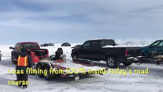 Hockey fights are the best PLUS ice racing from the Lake Winnipeg - Winnipeg Beach Ice Track