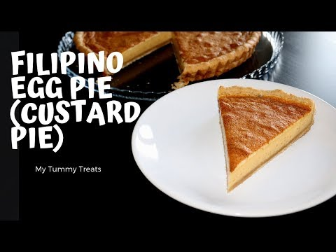 HOW TO MAKE FILIPINO-STYLE EGG PIE (CUSTARD PIE) | RECIPE