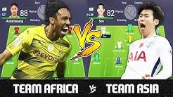 Team Africa VS Team Asia - FIFA 18 Experiment