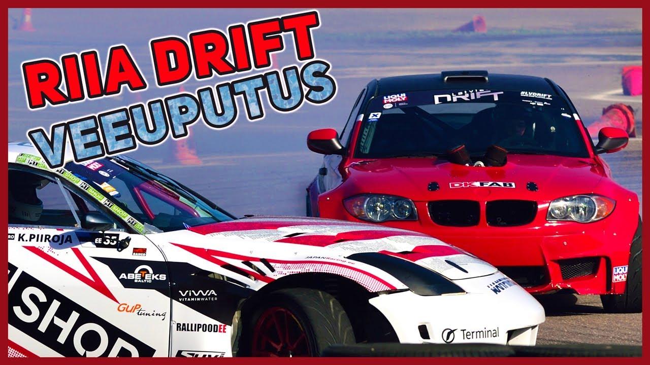 Vihmatants Riia Speedway Drifti võistlustel