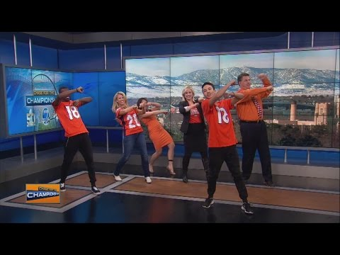Denver7 anchors learn the Broncos Bounce