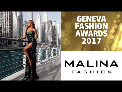 Malina Fashion at the Geneva Fashion Awards 2017