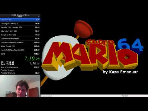 SM64: Ocarina of Time 100% in 3:53:13