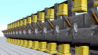 Most Annoying Redstone Noise Machine You Can Make In Minecraft - Bell Hell - 1.15 Snapshot 19w36