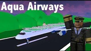 ROBLOX | Aqua Airways Boeing 757-300 Flight
